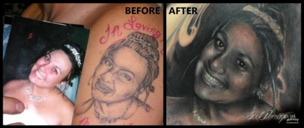 small_worst portrait tattoo in the world