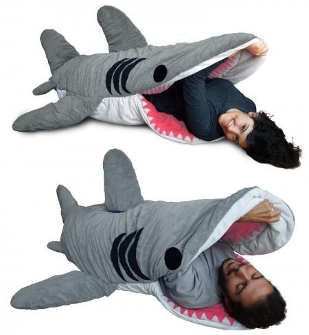 small_shark_sleeping_bag