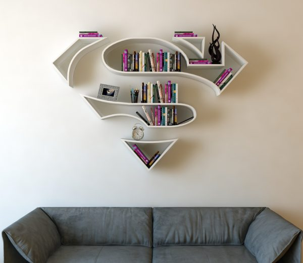Bookshelves_Shaped_Like_Superhero_Logos_by_Burak_Dogan_2016_01