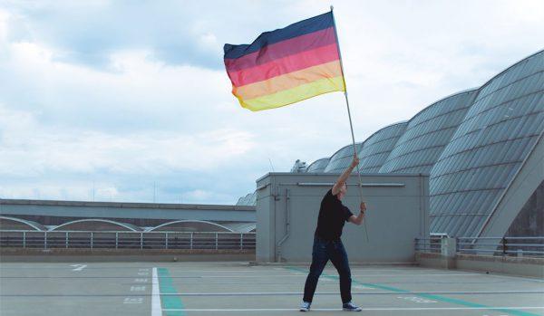 deutschland-Multicolor-Flagge